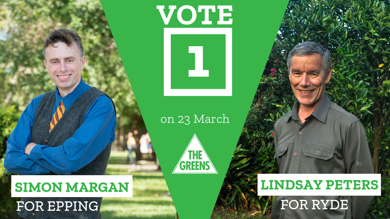 Welcome to Ryde-Epping Greens